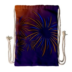 Sylvester New Year S Day Year Party Drawstring Bag (large)
