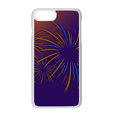 Sylvester New Year S Day Year Party Apple Iphone 7 Plus Seamless Case (white)