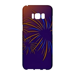 Sylvester New Year S Day Year Party Samsung Galaxy S8 Hardshell Case