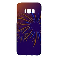 Sylvester New Year S Day Year Party Samsung Galaxy S8 Plus Hardshell Case