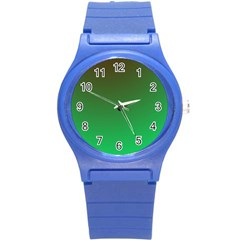 Course Colorful Pattern Abstract Round Plastic Sport Watch (s)