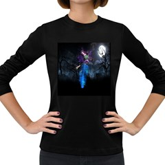 Magical Fantasy Wild Darkness Mist Women s Long Sleeve Dark T Shirts