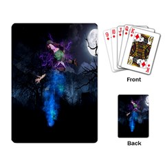 Magical Fantasy Wild Darkness Mist Playing Card