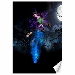 Magical Fantasy Wild Darkness Mist Canvas 12  X 18   by BangZart