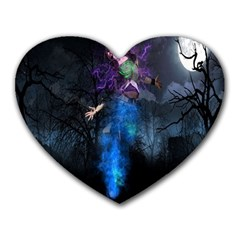 Magical Fantasy Wild Darkness Mist Heart Mousepads