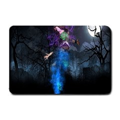 Magical Fantasy Wild Darkness Mist Small Doormat  by BangZart