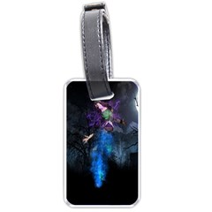 Magical Fantasy Wild Darkness Mist Luggage Tags (two Sides)