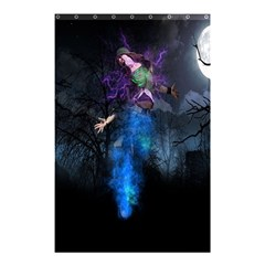 Magical Fantasy Wild Darkness Mist Shower Curtain 48  X 72  (small)