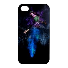 Magical Fantasy Wild Darkness Mist Apple Iphone 4/4s Premium Hardshell Case