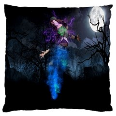 Magical Fantasy Wild Darkness Mist Large Cushion Case (two Sides)