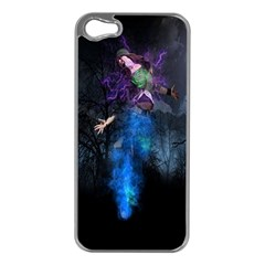 Magical Fantasy Wild Darkness Mist Apple Iphone 5 Case (silver)