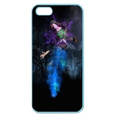 Magical Fantasy Wild Darkness Mist Apple Seamless Iphone 5 Case (color)
