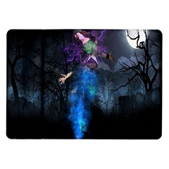 Magical Fantasy Wild Darkness Mist Samsung Galaxy Tab 10 1  P7500 Flip Case