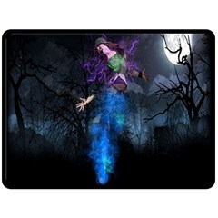 Magical Fantasy Wild Darkness Mist Double Sided Fleece Blanket (large)  by BangZart