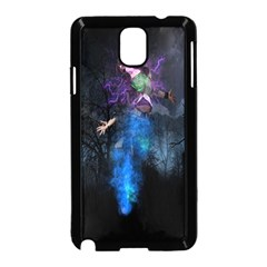 Magical Fantasy Wild Darkness Mist Samsung Galaxy Note 3 Neo Hardshell Case (black)