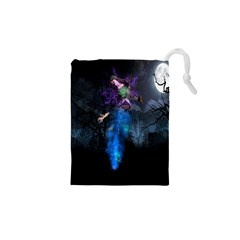 Magical Fantasy Wild Darkness Mist Drawstring Pouches (xs)