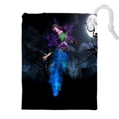 Magical Fantasy Wild Darkness Mist Drawstring Pouches (xxl)