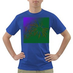 Sylvester New Year S Day Year Party Dark T Shirt