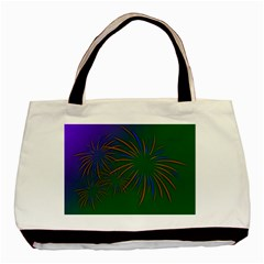 Sylvester New Year S Day Year Party Basic Tote Bag