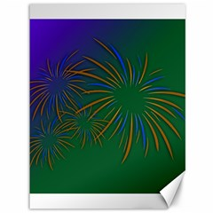 Sylvester New Year S Day Year Party Canvas 36  X 48
