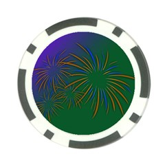 Sylvester New Year S Day Year Party Poker Chip Card Guard