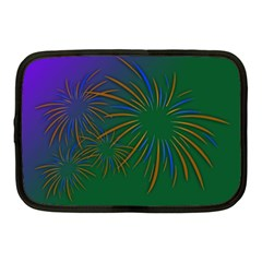 Sylvester New Year S Day Year Party Netbook Case (medium)  by BangZart