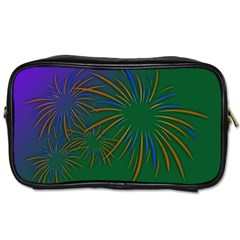 Sylvester New Year S Day Year Party Toiletries Bags 2 Side