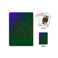 Sylvester New Year S Day Year Party Playing Cards (mini)