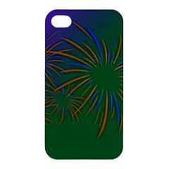 Sylvester New Year S Day Year Party Apple Iphone 4/4s Premium Hardshell Case