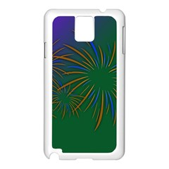 Sylvester New Year S Day Year Party Samsung Galaxy Note 3 N9005 Case (white)