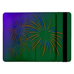 Sylvester New Year S Day Year Party Samsung Galaxy Tab Pro 12 2  Flip Case