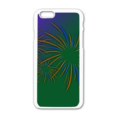 Sylvester New Year S Day Year Party Apple Iphone 6/6s White Enamel Case