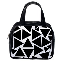 Template Black Triangle Classic Handbags (one Side) by BangZart