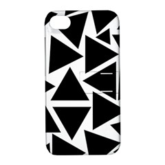 Template Black Triangle Apple Iphone 4/4s Hardshell Case With Stand