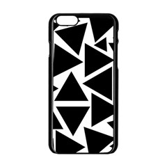 Template Black Triangle Apple Iphone 6/6s Black Enamel Case