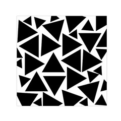 Template Black Triangle Small Satin Scarf (square) by BangZart