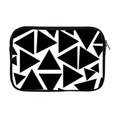 Template Black Triangle Apple Macbook Pro 17  Zipper Case