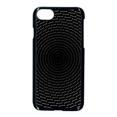 Q Tips Collage Space Apple Iphone 7 Seamless Case (black)