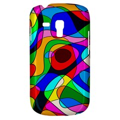 Digital Multicolor Colorful Curves Galaxy S3 Mini by BangZart