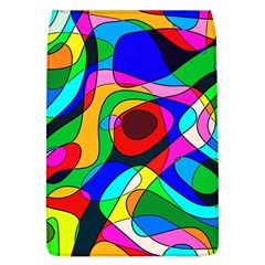 Digital Multicolor Colorful Curves Flap Covers (l)  by BangZart
