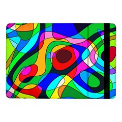 Digital Multicolor Colorful Curves Samsung Galaxy Tab Pro 10 1  Flip Case