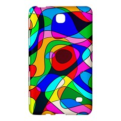 Digital Multicolor Colorful Curves Samsung Galaxy Tab 4 (7 ) Hardshell Case  by BangZart