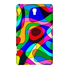 Digital Multicolor Colorful Curves Samsung Galaxy Tab S (8 4 ) Hardshell Case