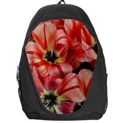Tulips Flowers Spring Backpack Bag by BangZart