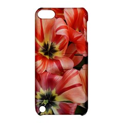 Tulips Flowers Spring Apple Ipod Touch 5 Hardshell Case With Stand
