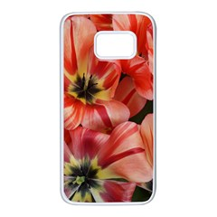 Tulips Flowers Spring Samsung Galaxy S7 White Seamless Case