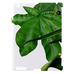 Plant Berry Leaves Green Flower Apple Ipad 3/4 Hardshell Case (compatible With Smart Cover) by BangZart