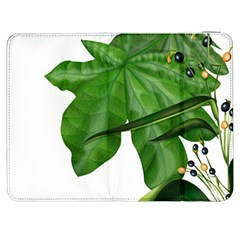 Plant Berry Leaves Green Flower Samsung Galaxy Tab 7  P1000 Flip Case