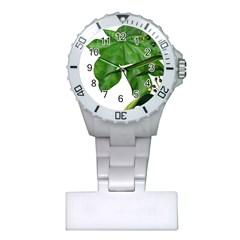 Plant Berry Leaves Green Flower Plastic Nurses Watch