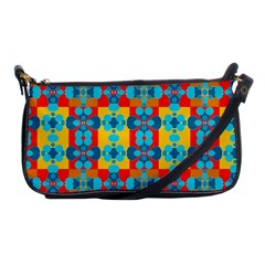 Pop Art Abstract Design Pattern Shoulder Clutch Bags by BangZart